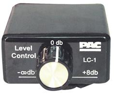 Remote Level Control Pac Rca In-out