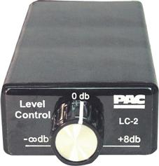 Remote Level Controller Pac W-line Level Converter