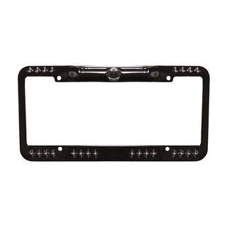 Camera Tview License Plate Frame; *black*