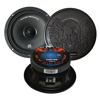 "Midbass 6.5"" 300watt 4 Ohm Power Acoustik Sold Each"