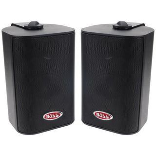 Boss 3-way Indoor-outdoor Speaker Black