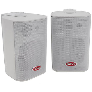 Boss 3-way Indoor-outdoor Speaker White
