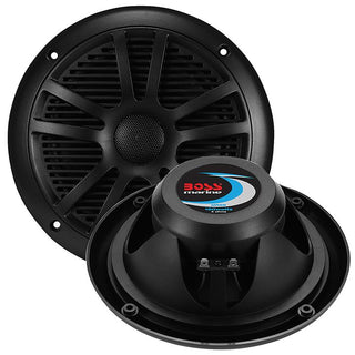 "Boss Audio Marine Black 6.5"" Dual Cone (pair) 180 Watts"