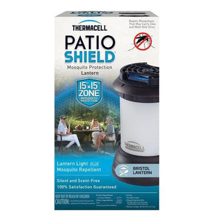 Thermacell Patio Shield Bristol Mosquito Repellent Lantern Dark Bronze