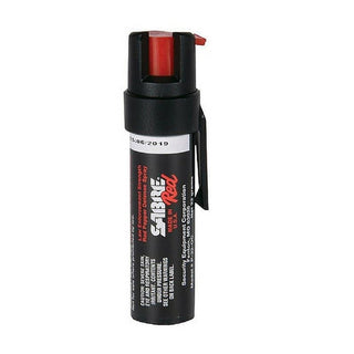 Sabre Red Pepper Spray Police Strength Compact Size W Clip 35 Shots