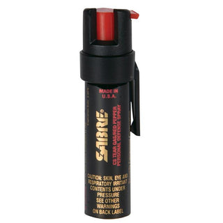 Sabre 3-in-1 Pepper Spray Police Strength Compact Size .75oz