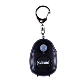 Sabre Personal Alarm With Motion Detector Magnet & Key Ring W 120db Alarm