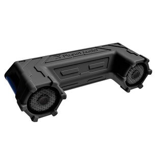 "Planet Off Road Atv Sound System 6.5"" Marine Speakers Bluetooth Led Bar"
