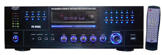 Pyle Amp W- Built In Dvd Player & Am-fm Tuner 1000 Watts