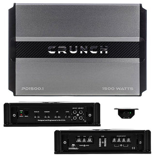 Crunch Power Drive Class A-b Mono 1500w Amplifier