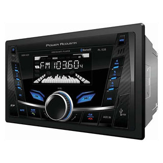Power Acoustik D.din Am-fm-usb-sd-bt Mechless