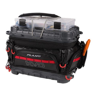 Plano Kvd Signature Series 3600 Size Tackle Bag Black-gray-red