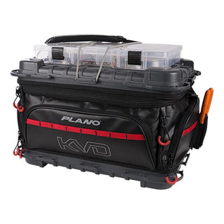 Plano Kvd Signature Series 3700 Size Tackle Bag  Black-gray-read