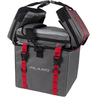 Plano Weekend Series Kayak Soft Crate  Gray-red