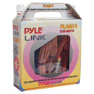 Amp Wiring Kit Pyle 8ga. With Speaker Wire