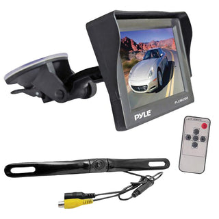 "Pyle 4.7"" Monitor W- Rearview License Plate Camera"