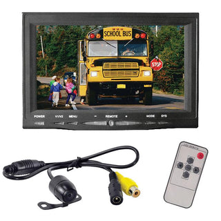 "Pyle 7"" Monitor W- Rearview License Plate Camera"