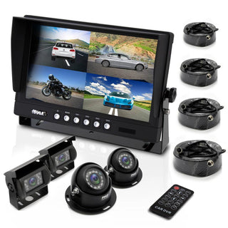 "Pyle 7"" Monitor With 4 Camera Set"