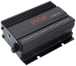 Pyle 2ch 300w Mini Amplifier With 3.5mm Input