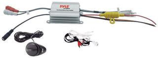 Pyle 2ch Waterproof Mp3-ipod Marine Power Amplifier -silver Fioinish