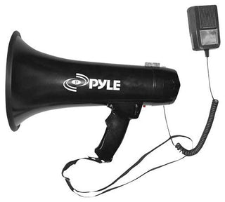 Pyle Pro Megaphone With Siren And 3.5mm Aux Input