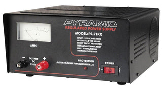 Power Supply Pyramid 20 Amp W-cooling Fan