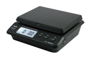 American Weigh Scales Ps-25 Table Top Postal Scale Black