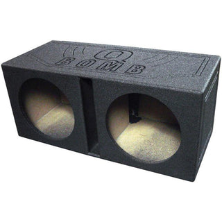 "Qpower Qbomb Dual 10"" Woofer Box Ported"