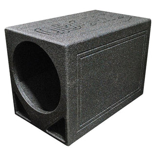 "Qpower Single 12"" Triangle Ported Finished W-bed Liner"