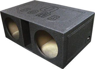 "Qpower Dual 12"" Vented Extra Large Spl Woofer Box ""q Bomb"""