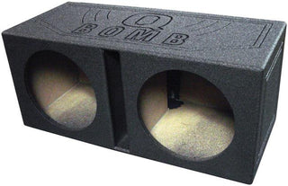 "Qpower Bomb Empty Woofer Box Qpower(2)15""slotported"