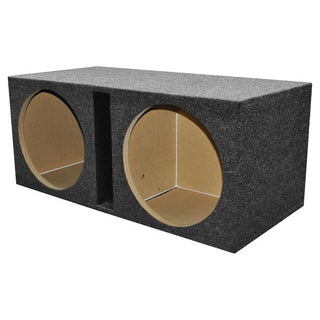 "Qpower 2 Hole 15"" Vented Woofer Box With 1"" Mdf Face"