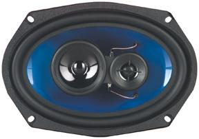 Qpower 6x9 3-way Speaker 500w