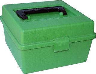 Mtm Deluxe Ammo Box 100 Round Handle Wsm Wssm Ultra Mag Green