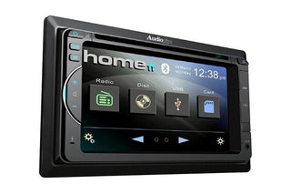 "Audiopipe 6.2"" Dvd-cd Fixed Panel Receiver Bluetooth Am-fm Usb-sd Remote"