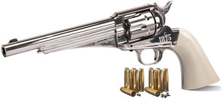 Crosman Remington 1875 Single Action Army Revolverco2 Powered Full Metal Bb & Pellet Air Revolver