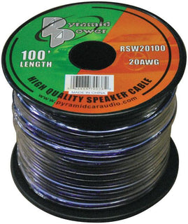 Speaker Wire Pyramid 20 Ga. 100 Ft. Purple