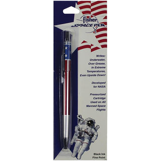 Fisher Space Pen All Metal Space Pen W-american Flag Design Fine Point