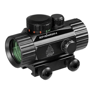 Utg 3.8 Ita Red-green Cqb Dot Sight With Integral Mount