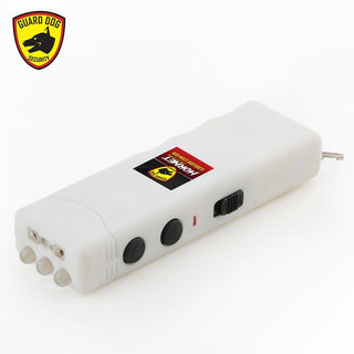 Guarddog Worlds Smallest Hornet Keychain Stun Gun Led Flashlight 6000000 Volt White