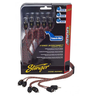 Stinger 17ft 4000 Series 6 Channel Rca's Directional Twisted
