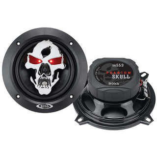 "Boss Phantom Skull 5.25"" 3-way Speaker 275w Max"