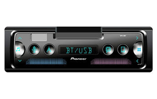 Pioneer Smartphone Cradle Sync Mechless Receiver  W-alexa-bt Single Din