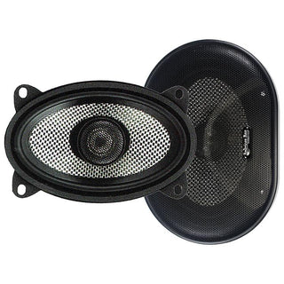 "Speaker 4x6"" (pair) 2-way 100watts American Bass;carbon Fiber"