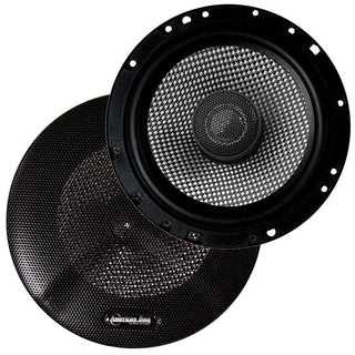 "Speaker 6.5"" 2-way (pair) 160watts American Bass;carbon Fiber"