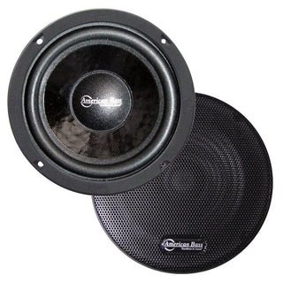 "American Bass 6.5"" (sold Each) Closed Back Midrange Speaker"