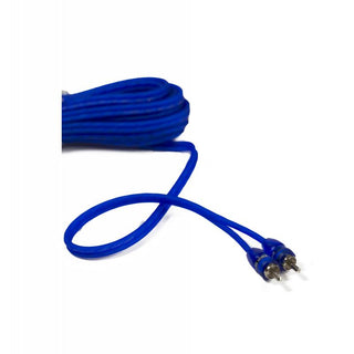 Stinger 15ft Blue Comp Series Twisted Rca