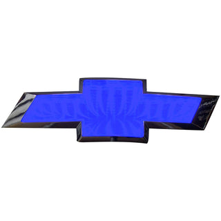 Street Vision Chevy 3d Logo Badge—blue