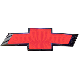 Street Vision Chevy 3d Logo Badge—red