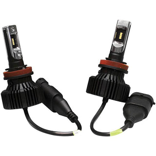 Street Vision Fan Less Led Headlights H-l Shallow Mount Design